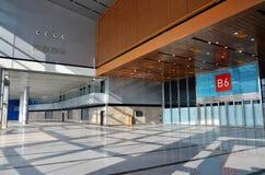 Leere Ausstellunghalle Stockfotografie
