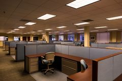 Leere Büroräume lizenzfreies stockfoto