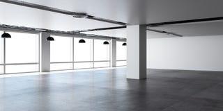Leere Büroräume Stockbilder