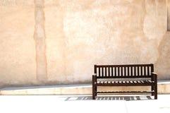 Leere Bank Stockbild