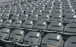 Leere Baseball-Stadion-Sitze Lizenzfreie Stockfotografie