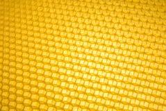 Leere Bienenwabengitterdiagonale Stockbild