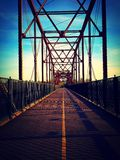 Leere Brücke Stockfoto