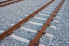 Leere Eisenbahnlinien Stockfotos