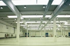 Leere Fabrik Stockbilder