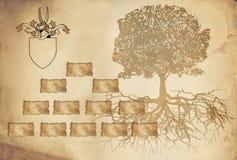 Leere Felder und Namensmarken werden einzeln gruppiert Stockbilder