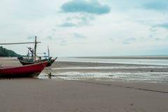 Leere Fischerboote Stockfotografie