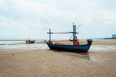 Leere Fischerboote Lizenzfreies Stockfoto
