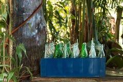 Leere Flaschen lizenzfreie stockfotografie