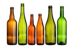 Leere Flaschen stockfotografie