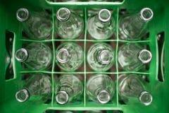 Leere Flaschen stockbilder