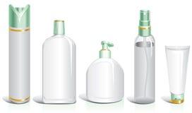 Leere Flaschen für Kosmetik vektor abbildung