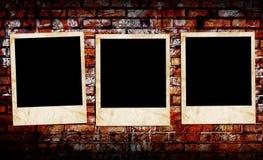 Leere Fotofelder Lizenzfreies Stockbild
