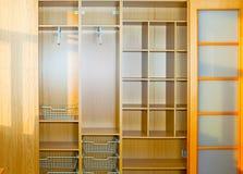 Leere Garderobe Stockbilder