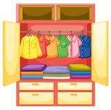Leere Garderobe Lizenzfreies Stockbild