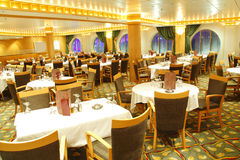 Leere Gaststätte Stockfoto