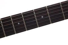 Leere hölzerne Rosenholz Fingerboarde-gitarre stockfoto