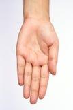 Leere Hand Stockfotografie