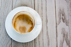 Leere Kaffeetasse Stockbilder