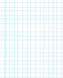 Leere Karopapierbeschaffenheit von einem Notizblock Lizenzfreie Stockbilder
