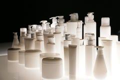 Leere Kosmetikflaschen 1 Stockbild