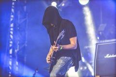 Leere leben in Konzert 2017 Lizenzfreies Stockbild
