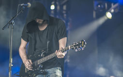 Leere leben in Konzert 2017 Lizenzfreies Stockfoto