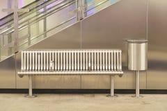 Leere Metrostation Lizenzfreie Stockfotos