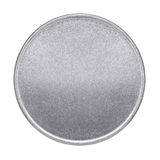 Leere Münze oder Medaille Lizenzfreies Stockfoto