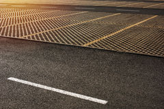 Leere Parkplätze Lizenzfreie Stockbilder