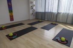 Leere pilatess und Reformerklasse Stockbilder
