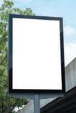 Leere Plakat-Modell-Schablone Lizenzfreie Stockfotografie