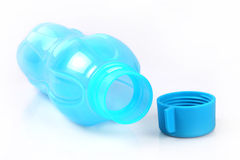 Leere Plastikwasserflasche Lizenzfreie Stockfotografie