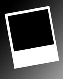 Leere polaroidfelder Lizenzfreies Stockbild