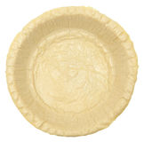 Leere rohe Pastete ohne Füllung Stockbild