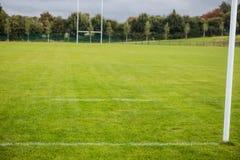 Leere Rugbyneigung Stockbilder