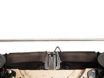Leere Schreibmaschine Lizenzfreie Stockfotos