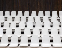 Leere Sitze Lizenzfreies Stockbild