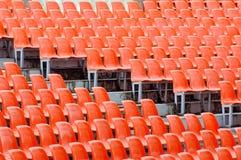 Leere Sitze Stockfoto