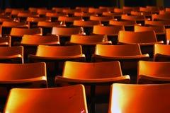 Leere Sitze Lizenzfreies Stockfoto