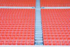 Leere Sitze am Stadion Stockfotografie