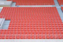 Leere Sitze am Stadion Stockbild