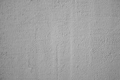 Leere sogar weiße Wand, abstrakter Hintergrund, Zementbeschaffenheit, Kitt, Wandbehandlung, Farbe, Reparatur stockfotografie