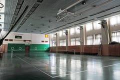 Leere Sporthalle Stockfoto