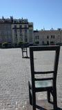 Leere Stühle Erinnerungs Lizenzfreie Stockfotografie
