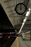 Leere Station stockfoto