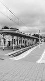 Leere Station Stockbilder