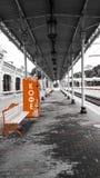 Leere Station Stockbild