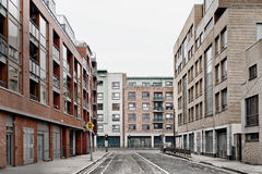Leere Straße Lizenzfreie Stockfotografie