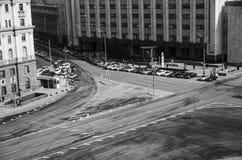 Leere Straße stockbilder